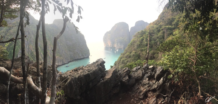 Thailand Maya Bay Tsunami Route